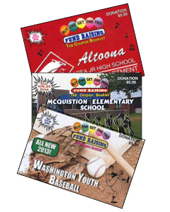 Coupon Books for fundraising